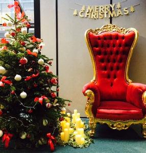Weihnachtsschmuck-DECO PRIVE-Fauteuil Père Noël