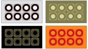 Designercarpets - module - Moderner Teppich