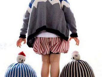 BUISJES EN BEUGELS -  - Kinderkissen