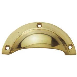 FERRURES ET PATINES - poignée coquille fondue bronze - Möbelgriff
