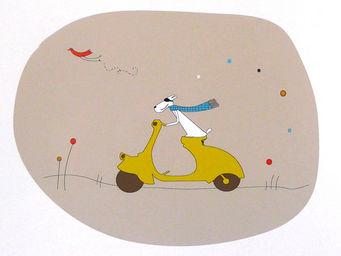 ICI LA TERRE - poster personnalisé prénom garçon napoli - Dekorative Gemälde Für Kinder