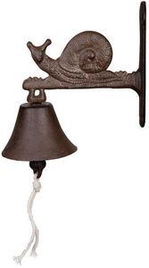 BEST FOR BOOTS - cloche de jardin escargot en fonte - Außenglocke
