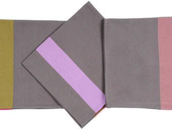 Artiga - serviette de table tarsac mauve - Tisch Serviette