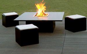 CESARRÉ -  - Tisch Mit Feuerstelle