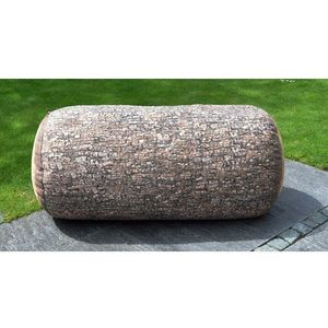 MEROWINGS - forest tree trunk outdoor - Bodenkissen