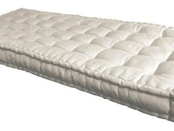 Futon Design - matelas 90 x 190 cm futon ecru - Federkernmatratze