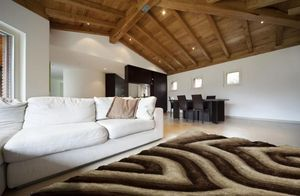 NAZAR - tapis avantgarde 120x170 beige - Moderner Teppich