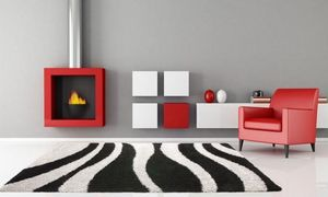 NAZAR - tapis chillout 120x170 black-silver - Moderner Teppich