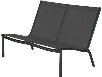 PROLOISIRS - sofa lounge linéa gris - Gartenbank