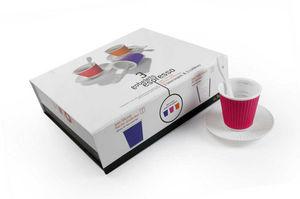 LES ARTISTES PARIS - coffret 3 gobelets expresso - Kaffeetasse