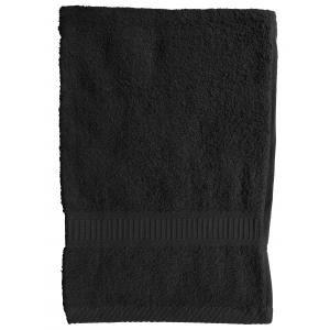 TODAY - serviette de toilette 50 x 90 cm - couleur - noir - Handtuch