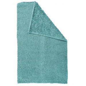 TODAY - tapis salle de bain reversible - couleur - bleu t - Badematte