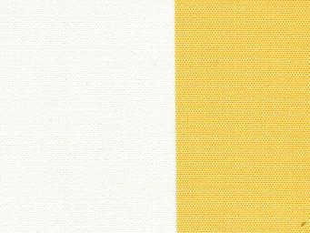 Le Quartier des Tissus - toile de bache rayee gold bain de soleil - Aussen Stoff