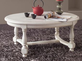 CDL Chambre-dressing-literie.com - meubles tv, tables et petits mobiliers - Runder Couchtisch
