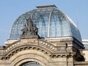 Raico France - gare centrale dresde - Glasdach
