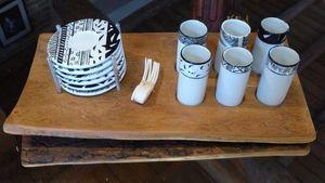 Tywacs Créations - prêt-à-servir - Kaffeeservice