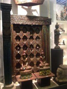 Hindustan House -  - Antike Tür