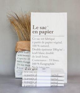 Editions  BE POLES -  - Papiertüte