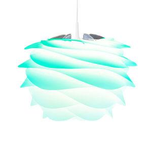 VITA - carmina - suspension tie & dye turquoise ø32cm | s - Deckenlampe Hängelampe