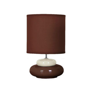 SEYNAVE - lili - lampe à poser chocolat & beige   lampe à po - Tischlampen