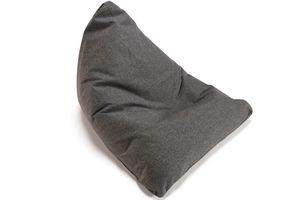 INNOVATION - innovation pouf design soft peak gris twist charco - Birne Sitzkissen