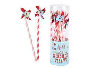 I-TOTAL - windmill straws - Trinkstroh