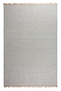 FABHABITAT - tapis en plastique recyclé lancut gris grand - Moderner Teppich