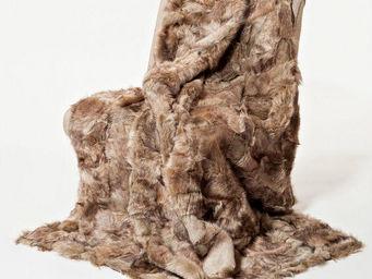 Paris Excellence - lapin naturel blanc - Plaid