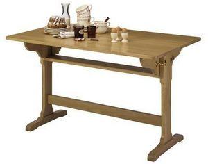 Meubles Strosser - table d'office pliante - Rechteckiger Esstisch