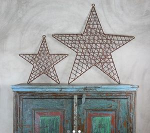 NKUKU - hadi wire star  - Dekorativer Stern