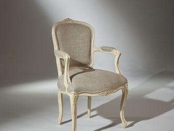 robin des bois - fauteuil louvre lin - Armsessel