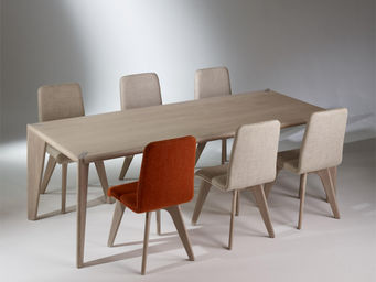 robin des bois - table rectangulaire, chêne, 10 couverts, sixty - Rechteckiger Esstisch