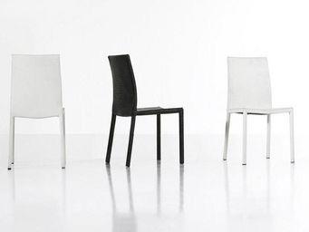 WHITE LABEL - chaises madere ? lot de 2 - Rezeptionsstuhl