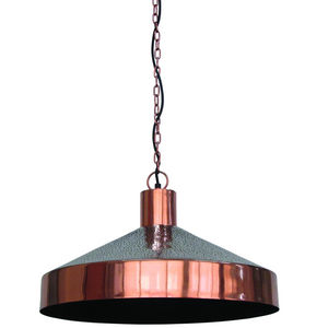 ZAGO - suspension en métal cuivré copper - Deckenlampe Hängelampe