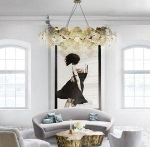 BOCA DO LOBO - newton chandelier - Deckenlampe Hängelampe