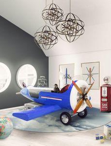 CIRCU - garçon -plane - Kinderbett