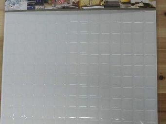 BEAUSTILE - mosaic blanc pur -