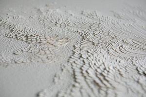 LAUREN COLLIN - -_papier sculpté - Wandverkleidung