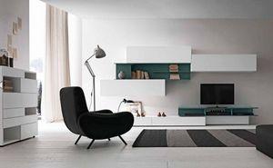 Presotto - i-modulart - Wohnzimmerschrank