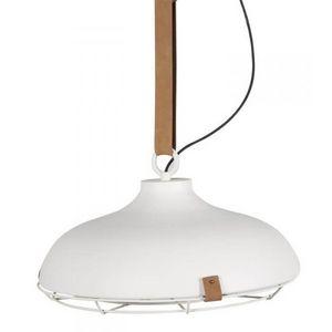 ZUIVER - suspension gamelle dek 51 blanche - Deckenlampe Hängelampe