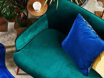 LA VILLA HORTUS - -green vintage - Sofa 2 Sitzer