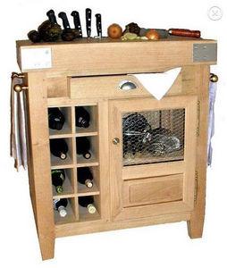 Maison Strosser - petit bahut billot - Küchenblock