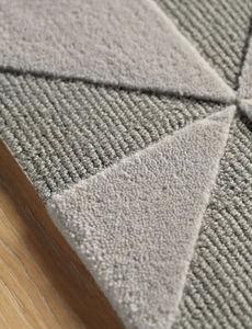 AMINI - fold grey - Moderner Teppich