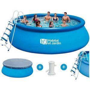 Habitat Et Jardin - piscine hors-sol autoportante 1422247 - Schwimmbad Mobil