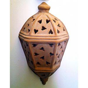 Coli Maioliche E Terrecotte - demi lanterne murale d'extérieur 1436238 - Wandleuchte