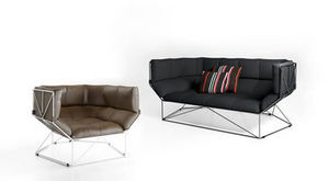 spHaus - foxhole 200/120 - Sofa 3 Sitzer