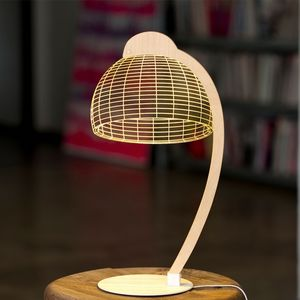 STUDIO CHEHA - dome - lampe led effet 3d - Tischlampen