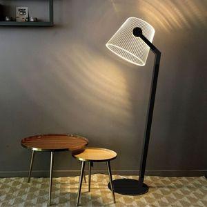 STUDIO CHEHA - ziggi - lampadaire noir led - Stehlampe