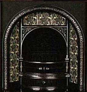 The Edwardian Fireplace -  - Rauchfangmantel