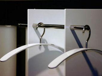 Door Shop - u rack blanc - Garderobenschrank